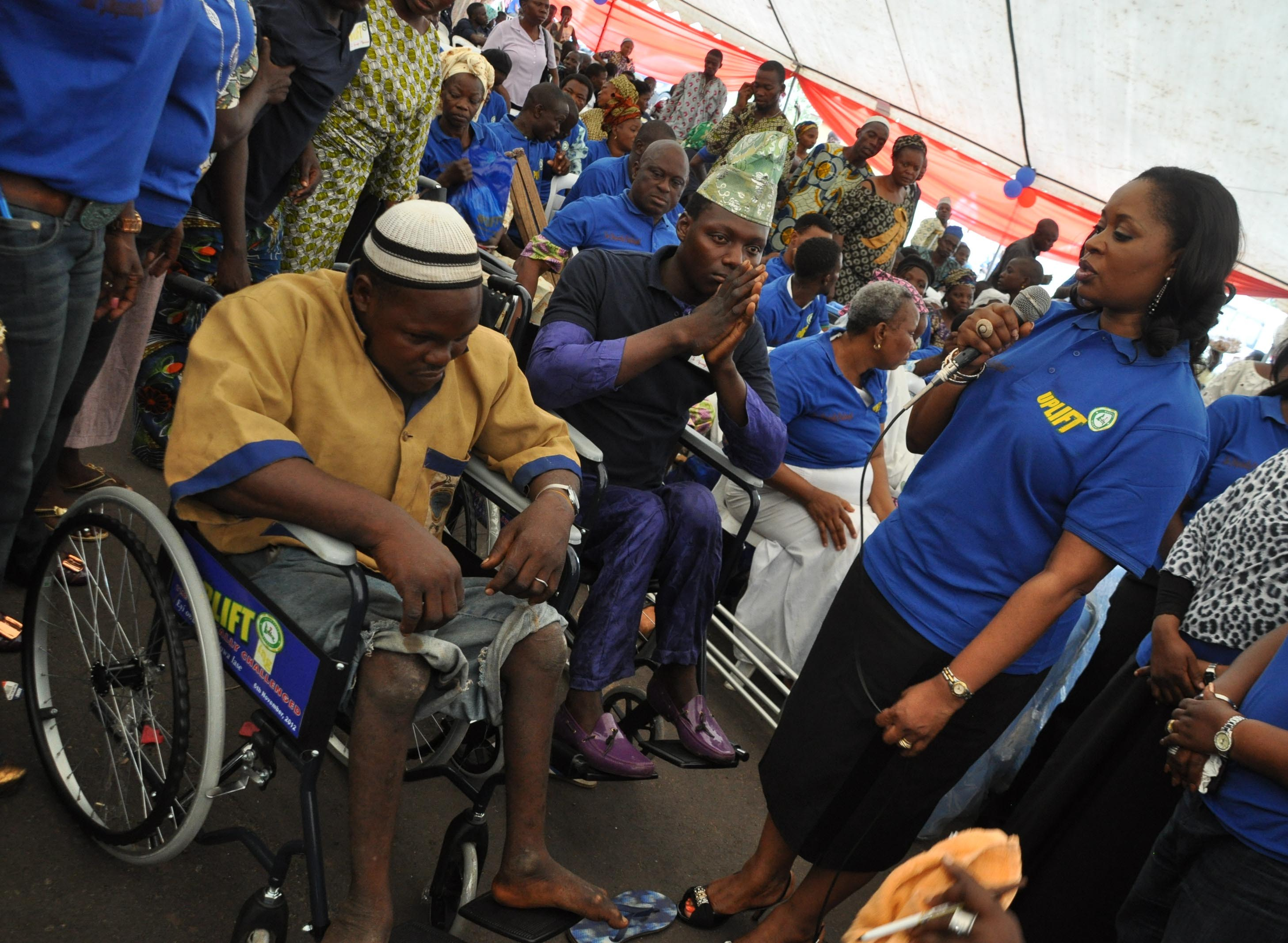 Image result for Foundation donates artificial limbs to 600 physically challenged persons in Nigeria