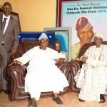 Governor Abiola Ajimobi and Olubadan