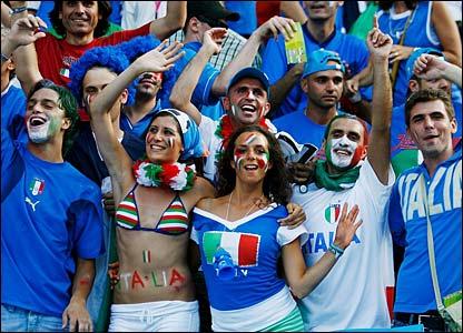Italians supporters