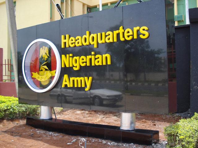 Nigeria Army Headquarters logo