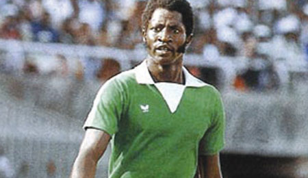 Nigeria ex international segun odegbami who played for the green Eagles and IICC shooting stars and was voted 3rd best player in africa