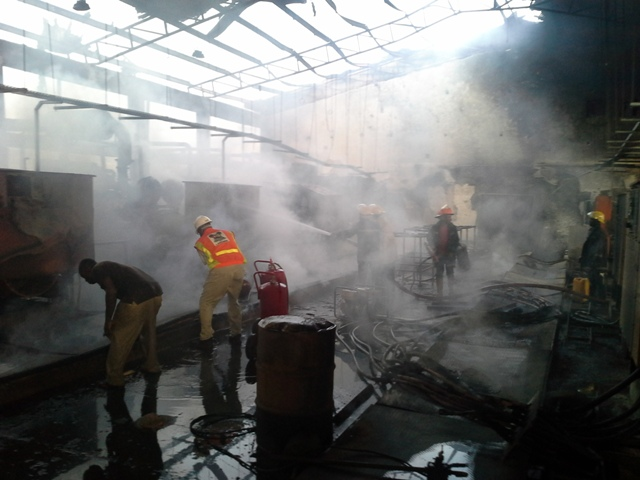 kaduna airport fire minister rules out sabotage