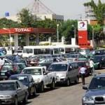 Fuel scarcity queue