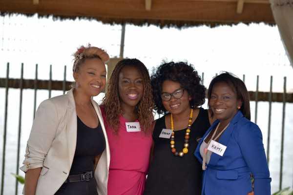 Lola Maja,Tara Fela-Durotoye, Banke Meshida Lawal and Kemi Ogunleye copy