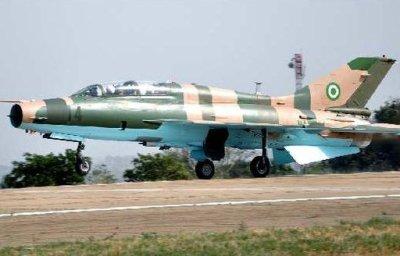 NAF fighter jet
