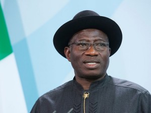 Goodluck Jonathan in Berlin