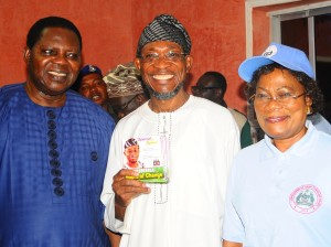 Ebenezer Obey, Governor Rauf Aregbesola and Deputy