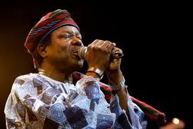 Image result for King Sunny Ade, a living legend worth celebrating, says Ooni of Ife