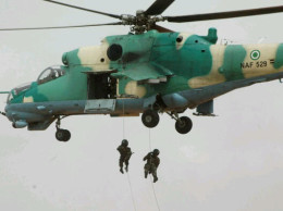 Nigerian Air Force helicopter