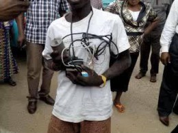 Suspected suiicide bomber of MMIA