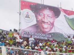 PDP SOUTH-SOUTH RALLY IN BENIN