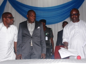 Governor Emmanuel Uduaghan and pension issues