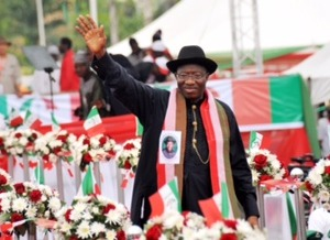 President Jonathan declares for second term