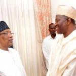 President Goodluck Jonathan and General Ibrahim Babangida