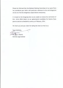 APC replies Keyamo 1
