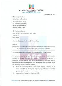 APC replies Keyamo