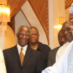 President Jonathan meets abdulsalam, Mbeki, others