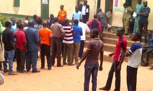 Voters in Jos North