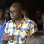 Governor Fayose and Dr. Omirin