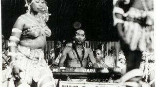 Fela and dancer