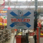 Shoprite sealed