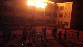 UNN hostel on fire