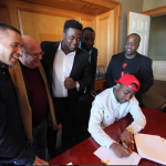 Davido signs contract with Sony Music Entertainment