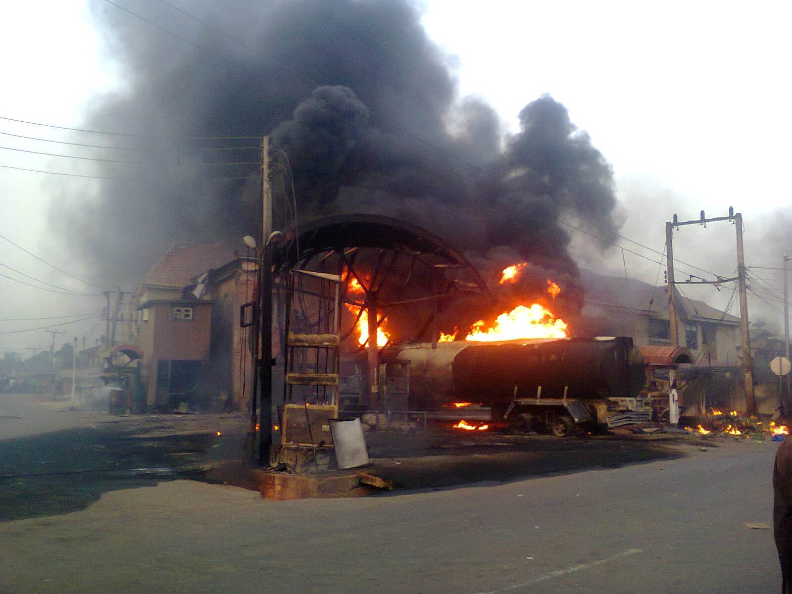 Image result for Fire outbreak in anambra