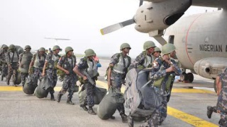 Nigerian Air Froce personnel
