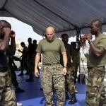 Nigerian Navy training