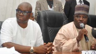 Ayo Fayose and Ali Modu Sheriff