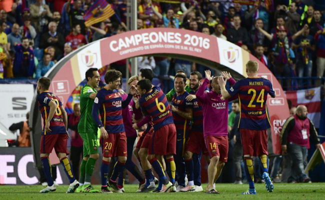 Barcelona Eye Record Revenue In   Season
