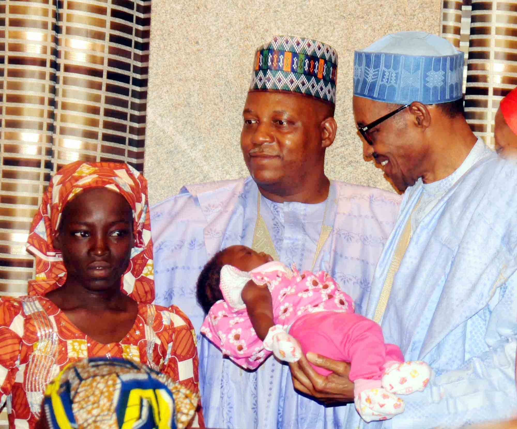 Buhari Pledges To Rescue Remaining Chibok Schoolgirls