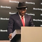 Goodluck Jonathan at Bloomberg