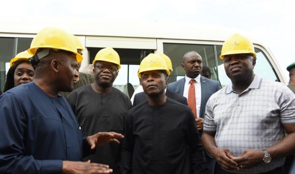 Dangote refinery, petrochemical project will boost Nigeria's economy – Ambode