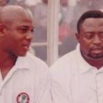 Stephen Keshi and Shaibu Amodu
