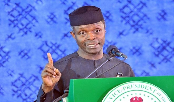Image result for images of Vice President Yemi Osinbajo