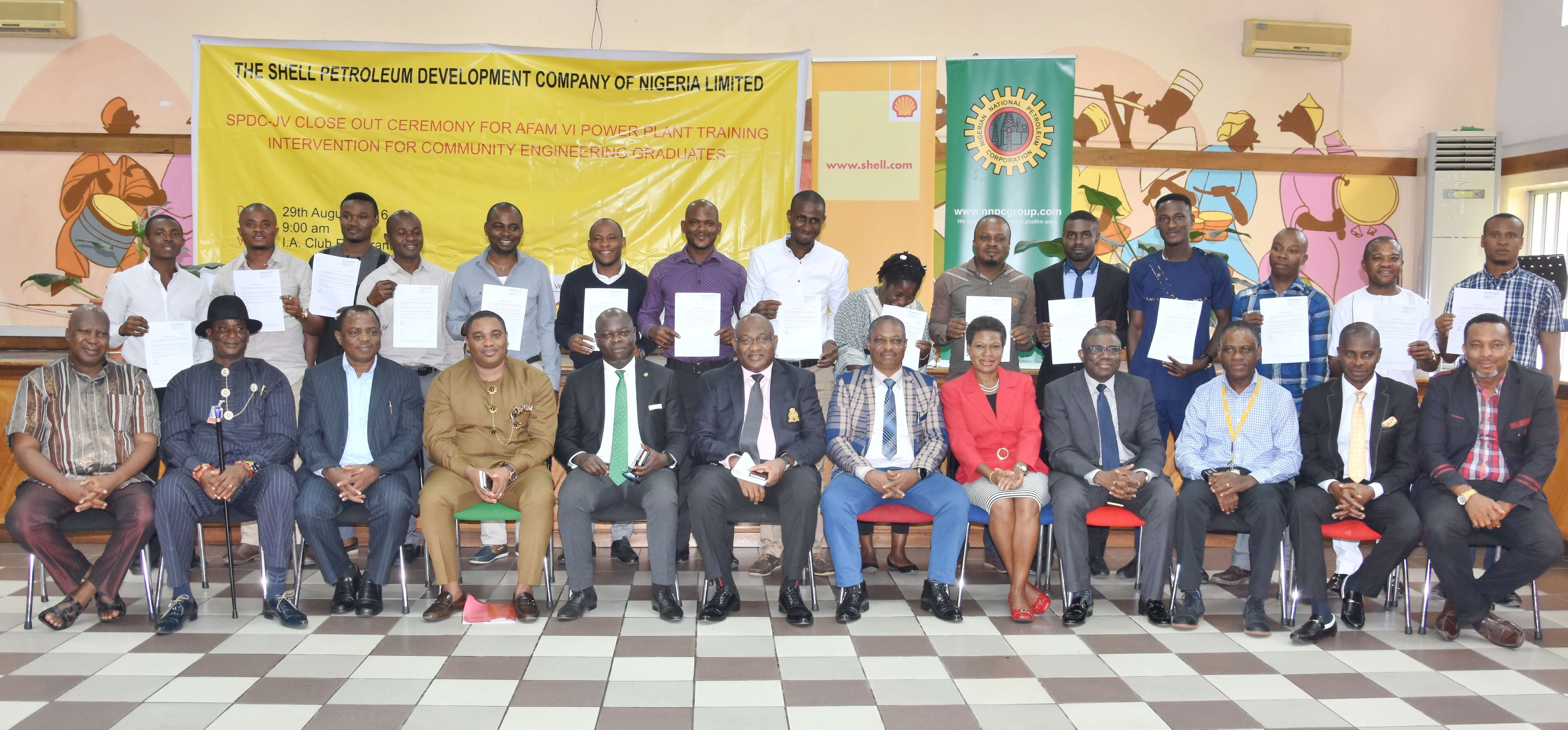 SPDC JV trains more youths on power plant operations