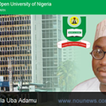 NOUN, National Open University of Nigeria:Prof. Abdallah Adamu