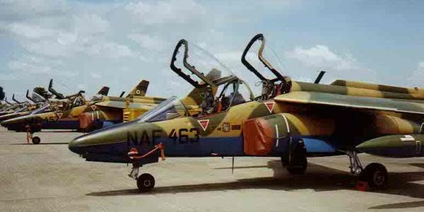 Nigeria Air Force alpha jets