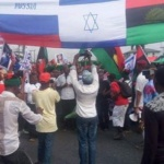 Biafra protest in Port Harcourt
