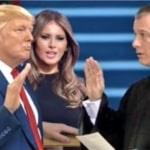 Donald Trump sworn in
