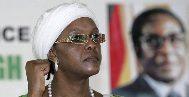 Mugabe S Wife Returns Home Pursued By South Africa Assault Allegation