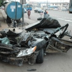 PIC.6. SCENE OF AN ACCIDENT IN LAGOS