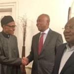 File-Buhari-receiving-Saraki-Dogara-and-Lawan-last-week-in-Abuja-house-London