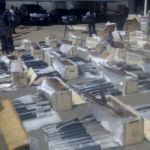 Pump action seized by Customs in Lagos