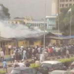 Fire at FAAN headquarters