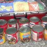 tin food where the cocaine was concealed by the brazilians