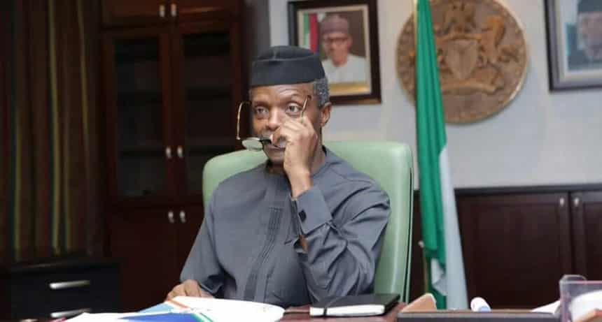 Osinbajo to agitators: We're not deaf to your grievances