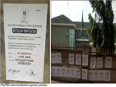 INEC continues with Dino's recall despite court ruling